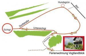 Karte-Anfahrt